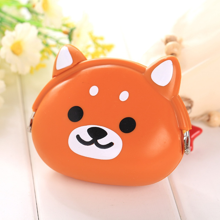 2018 New Girls Mini Silicone Coin Purse Animals Small Change Wallet Purse Women Key Wallet Coin Bag For Children Kids Gifts # G