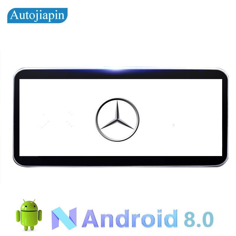 AUTOJIAPIN 10.25 Eight Core Android 8.0 2G RAM 1024*600 Car GPS navigation For Mercedes Benz GLC260/C200L/GLA 2015 2018