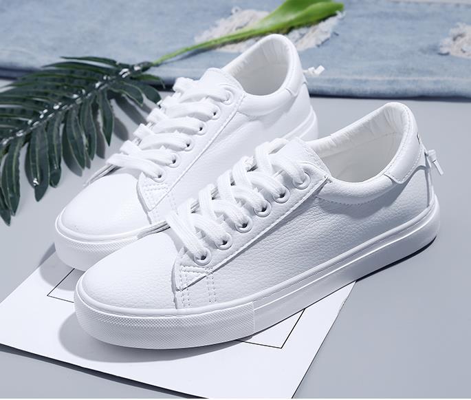 Para up Sneakers Ocasionales Zapatos Pu 40 2018 Azul Blanco Mujer Vulcanizar Caminar blanco rosado Caliente Encaje rojo 35 Tamaño P4xHxIYq