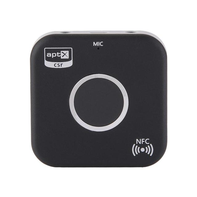 Bluetooth 4.1 NFC-Enabled Audio 3.5mm Receiver for Home Car Sound System