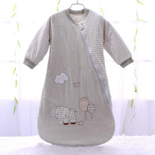 Детский спальный мешок с длинным рукавом для новорожденных 72*40 см, спальный мешок для детей 0 12 месяцев