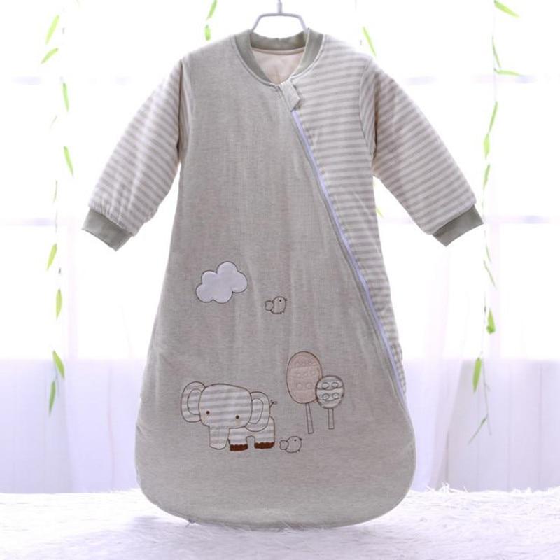 cheap for discount 4afb0 e46dc US $13.87 25% OFF|Baby Sleeping Bag Full Sleeve Newborn Sleep Sack 72*40cm  Baby Sleeper 0 12 Months-in Sleepsacks from Mother & Kids on Aliexpress.com  ...