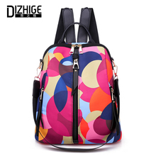 DIZHIGE Brand Luxury Waterproof Oxford Women Backpack High Quality School Bag For Fashion Multifunctional Female Bags New