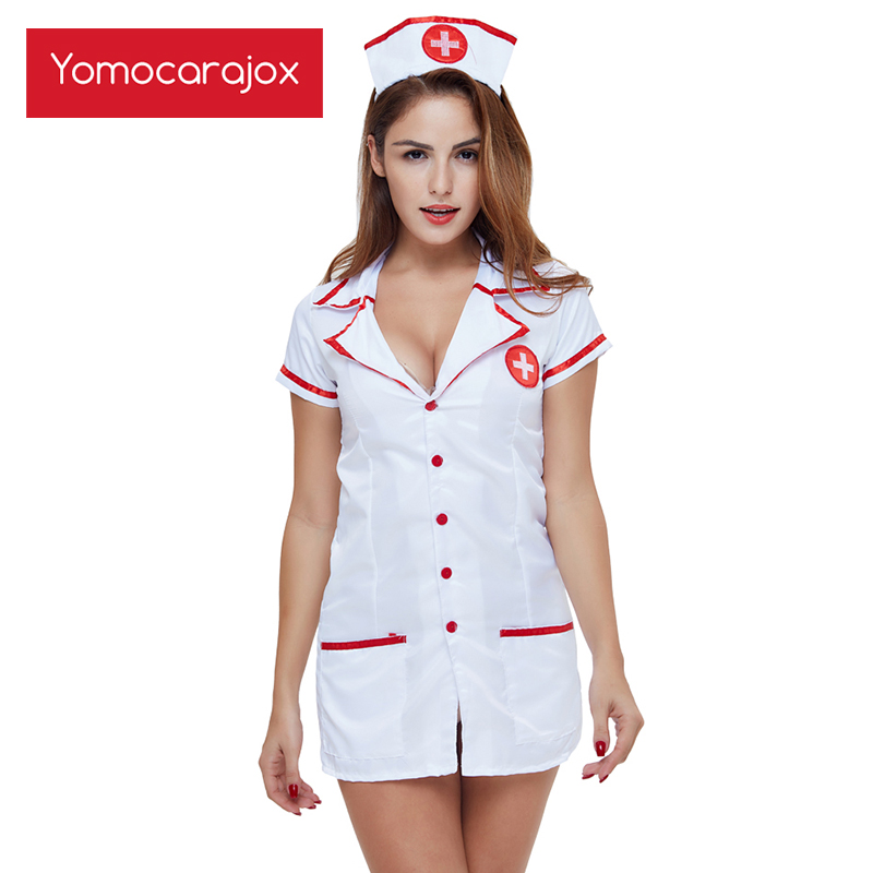 Top SaleMaid Lingerie Costume Uniform Sexy Underwear Play Women Erotic Games Nurse