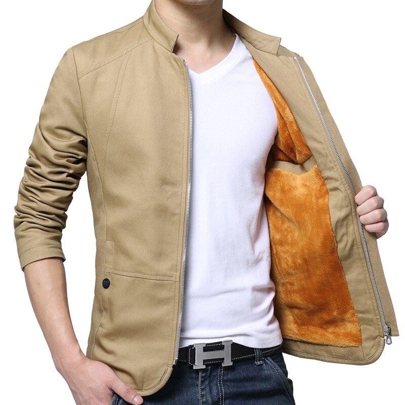 Men Jacket Spring Autumn Fashion Brand Slim Coats Male Bomber Jacket Large Size  Men Jackets Jackets And Coats Casaco Masculino