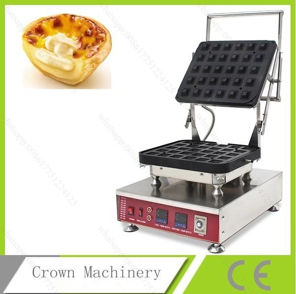 110V 220V Electric 30 pieces tartlet machine to make egg tart shell