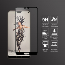 VNSTRIP 2 pcs 9H Tempered Glass film for P20 2 5D Full Cover Anti Scratch Curved