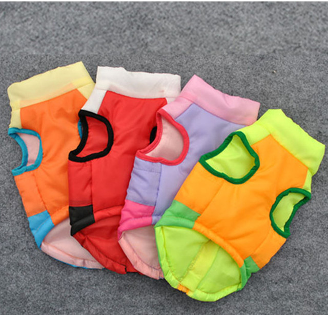 Winter Colorful Vests 4