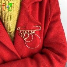 Fj4z новые модные дизайнерские геометрические Броши для женщин