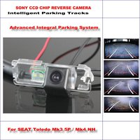 860 * 576 Pixels Back Up Camera For SEAT Toledo Mk3 5P / Mk4 NH Rearview Parking / 580 TV Lines Dynamic Guidance Tragectory