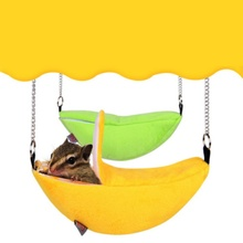 rat hamster toys cage swing pet hamster hanging house hammock banana design small animals cotton cage buy banana hammock and get free shipping on aliexpress    rh   aliexpress