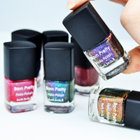 7pcs/set 6ml Born Pretty Holographic Holo Glitter Polish Nail Polish Varnish Hologram