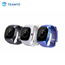 Teamyo T8 SIM Card smart watch GPS waterproof IP68 Heart Rate Fitness Tracker Sport watches Camera Smartwatch for Android iOS