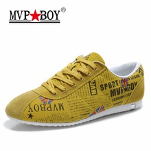 Mvp мальчик бренд граффити камуфляж личности Стиль мужская повседневная обувь Летняя мода супер легкий Кружева на шнуровке Повседневная обувь для мужчин