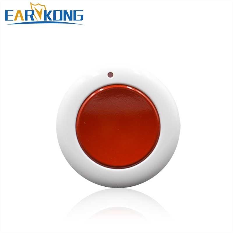 433MHz Wireless SOS Button For Wireless Wifi / GSM Home Burglar Alarm System,1 Key Alarm, Panic Button For elderly , Children