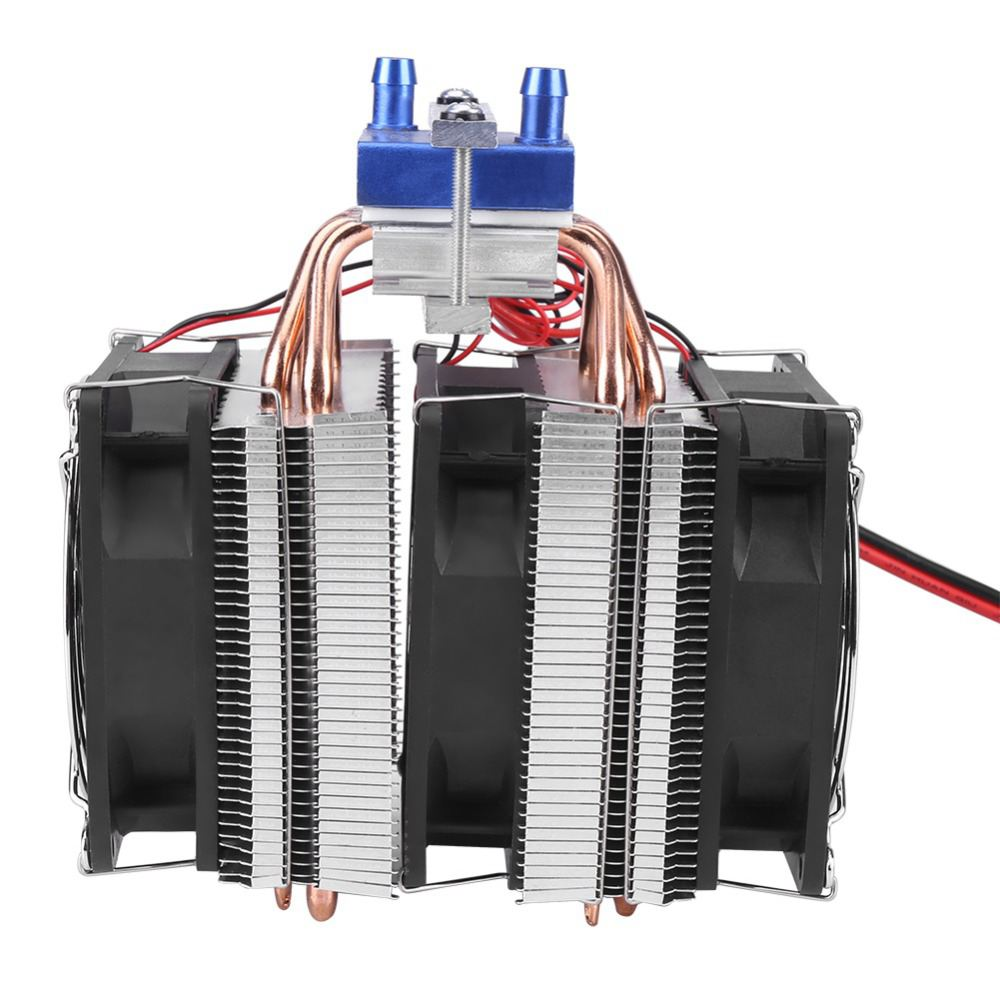 hot-1 PC Thermoelectric Cooler Semiconductor Refrigeration Peltier Cooler  Air Cooling Radiator Water Chiller Cooling System De