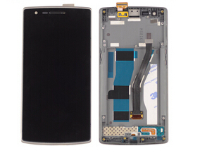 ФОТО Oneplus one 1+ Lcd Display+Touch Glass Digitizer +Frame Assembly replacement screen Pantalla
