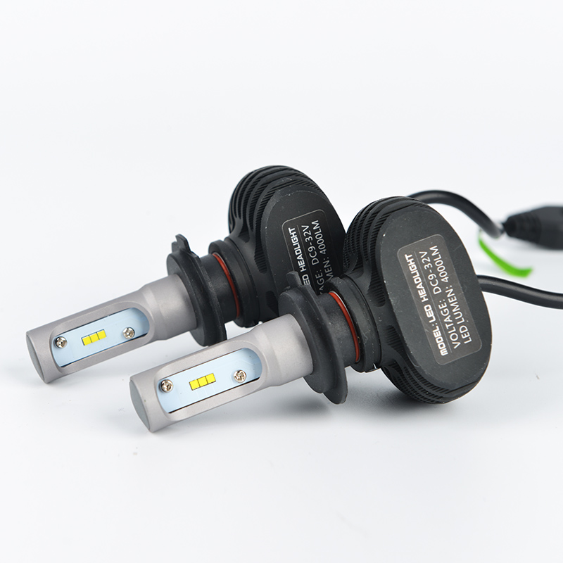 H4/H7/H11 LED Car Headlight Bulb Single/Hi-Lo Beam CSP Chips Auto Led Headlamp Fog Light Bulbs 8000LM Cold White 6500K 12v 24v 1set csp chips car headlight h4 led bulbs high low beam 52w 9000lm automobiles suv headlamp cool white 6000k 12v 24v