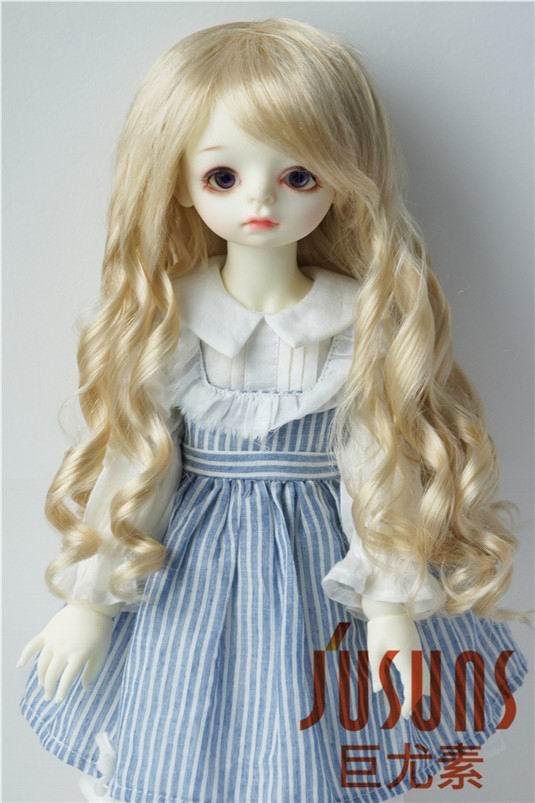 JD224 9-10 дюймов Blyth кукла парики 23-25 см кукольный парик BJD парик леди Sauvage длинные волнистые кукольные волосы