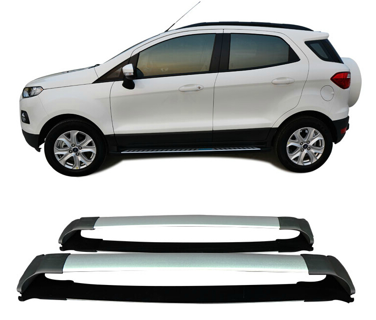 For Ford Ecosport 2012-2016 Roof Rack Rails Bar Luggage Carrier Bars top Cross Racks Rail Boxes Aluminum alloy 2PCS цены
