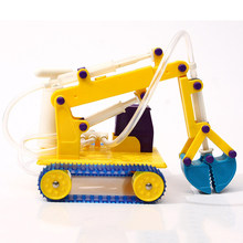 DIY Robotic Arms Children Popular Science Experiment Steam STEM Toy Sets Learning Toy For Kid Christmas Gifts(China)