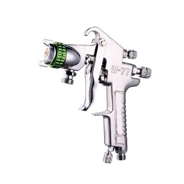 W-77 Siphonic Spray Gun Nozzle 2.0 / 2.5 / 3.0mm Furniture Primer Spray Gun Air Paint Spray Gun