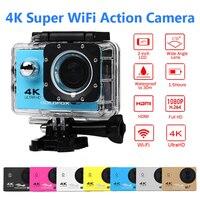 Ultra HD 4K Action Camera F60 F60R Wifi Outdoor Sports Camera 30M Underwater Camera Go Waterproof Pro Diving Bike Helmet Cam