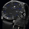 WWOOR Luxury Brand Watch Men Military Sports Watches Men's Quartz Analog 3D Face Hour Clock Male Leather Belt table Wrist Watch