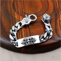 925 sterling silver jewelry imported from Thailand Crusaders men spend domineering Bracelet 042161w