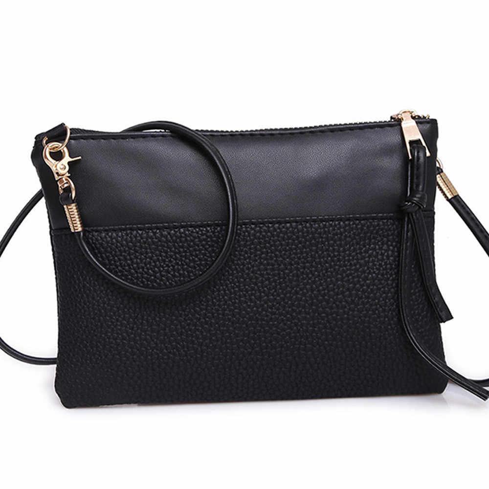 ファッションハンドバッグショルダーバッグ 2019 新トレンドスタイルレザーバッグ無地シンプルでエレガントなバッグ女性トートレディース財布 # S