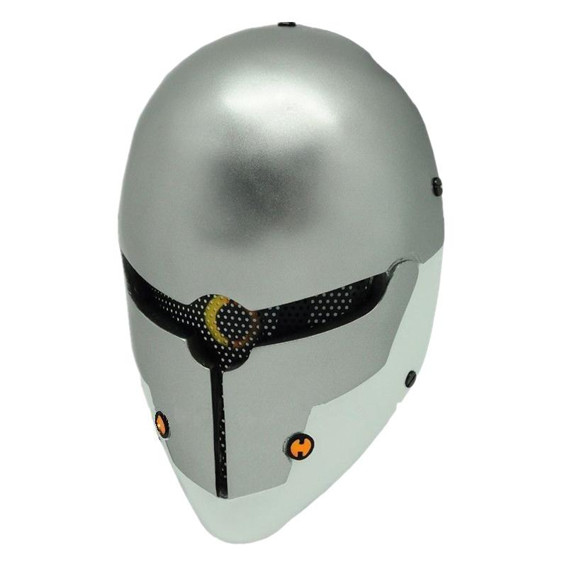 Metal Gear Solid Gray Fox Paintball Airsoft Wire Mesh Full Face Mask bd8862 free shipping steel casing pipe
