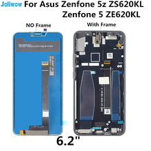For Asus Zenfone 5z ZS620KL LCD display Touch screen integrated components Digitizer Assembly for  Zenfone 5 ZE620KL LCD screen original cell phone lcd display touch screen digitizer assembly for asus zenfone 5 a500cg a501cg t00j t00f 5 0 lcd tools