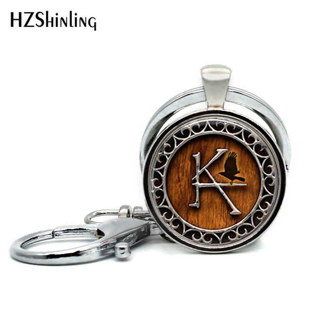 2017 New Fashion Dark Tower Keychains Handmade Round The Dark Tower