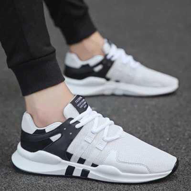 Lumière white Maille Hommes colorblock Black 2018 Nouveau Respirante Style Casual En D'été Sneakers Super Chaussures Confortables qfS8g6w