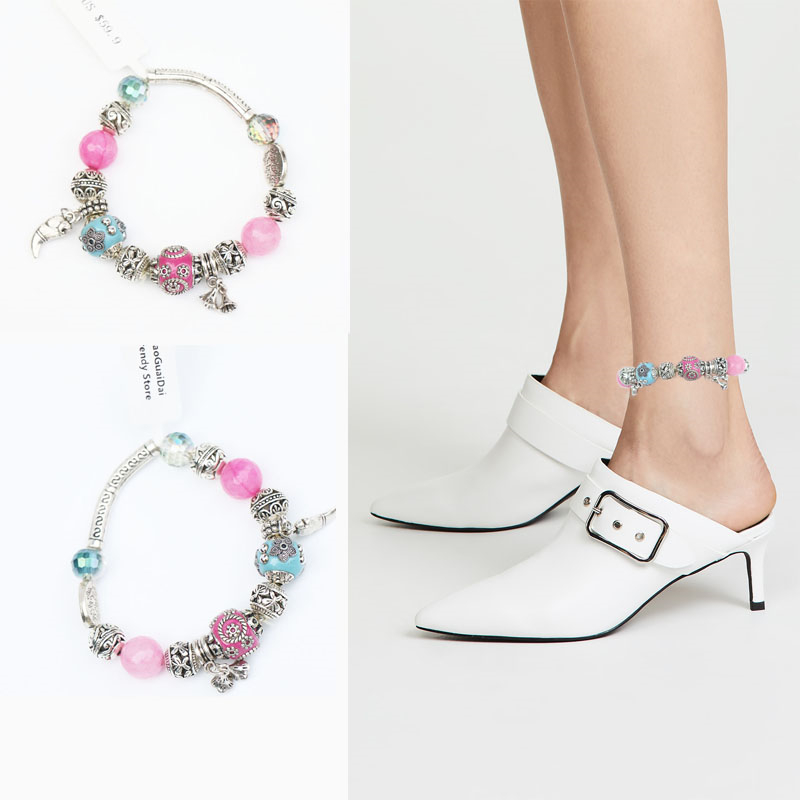 все цены на 2018 New Arrival Anklets Barefoot Sandals Ankle Bracelet Anklet Foot Jewelry Beach Wedding Bridesmaid Gift Handcrafted Dainty