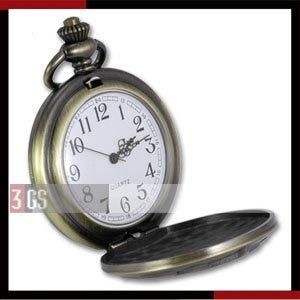 Mens Fashion Watch Vintage USA Navy Dept Emblem Bronze-plated Pocket Watch