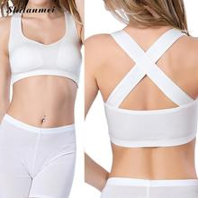 Hot 2016 New Arrival Spring Summer Sexy Lingerie Cross Back Bralette Crop Top Women Camis Cross Tank Tops Blusa Short Vest Tank