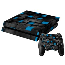 New Full Body Decal Skin Sticker Cover For PS4 Playstation Console 2 Controller(China)