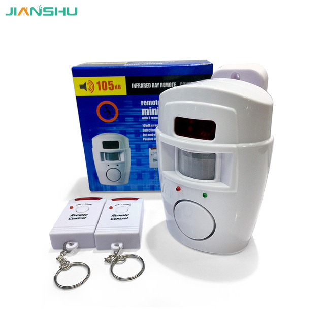 Recent Home System 2 Remote Control Wireless IR Infrared Motion Sensor Alarm Security Detector Hot Selling
