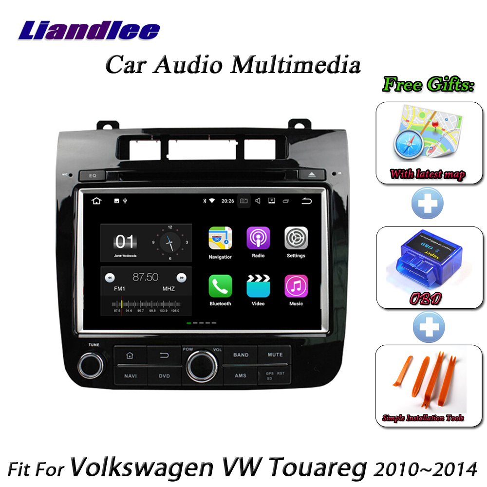 Liandlee Car Android System For Volkswagen VW Touareg 2010~2014 Radio CD DVD Player GPS Nav Navi Navigation HD Screen Multimedia