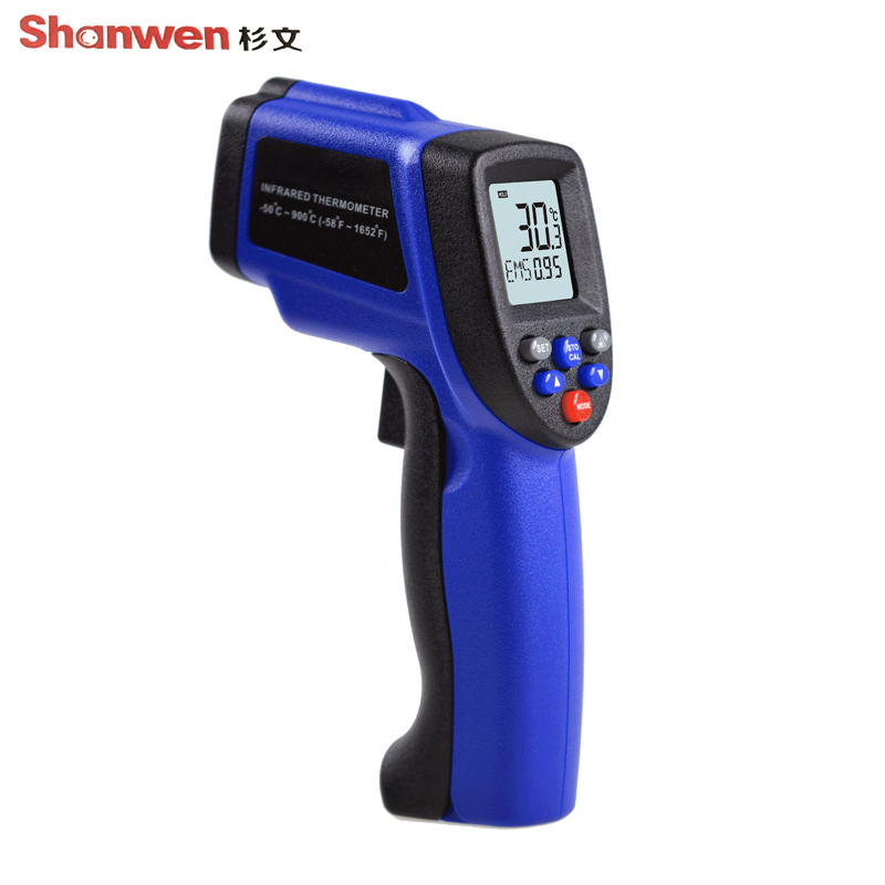 -50~900 Degrees Digital Thermometer Non-Contact Laser IR Infrared Electronic Professional Temperature Tester tasi 8606 infrared thermometer 32 380 degrees infrared thermometer non contact thermometer industrial and household
