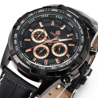 ORKINA Chronograph Mens Watches Top Brand Luxury Miyota JS20 Movement Analog Watches Relojes Male