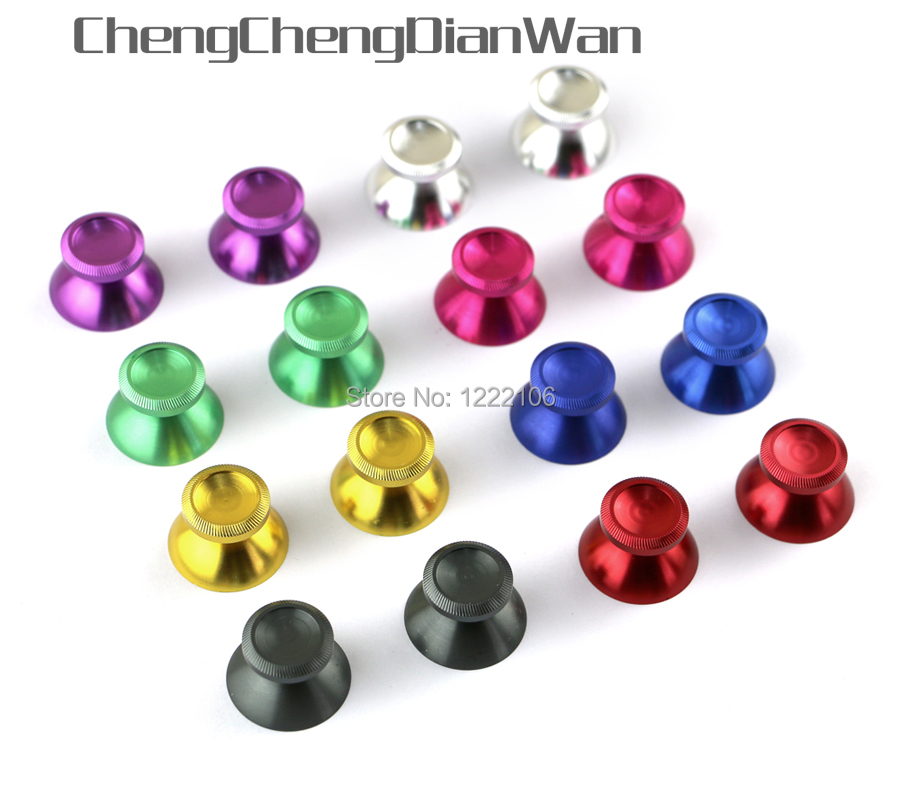 ChengChengDianWan 100pcs = 50 คู่อลูมิเนียมโลหะ 3D จอยสติ๊ก thumb stick เห็ดสำหรับ xbox360 Controller-ใน ชิ้นส่วนและอุปกรณ์เสริมสำหรับเปลี่ยน จาก อุปกรณ์อิเล็กทรอนิกส์ บน AliExpress - 11.11_สิบเอ็ด สิบเอ็ดวันคนโสด 1