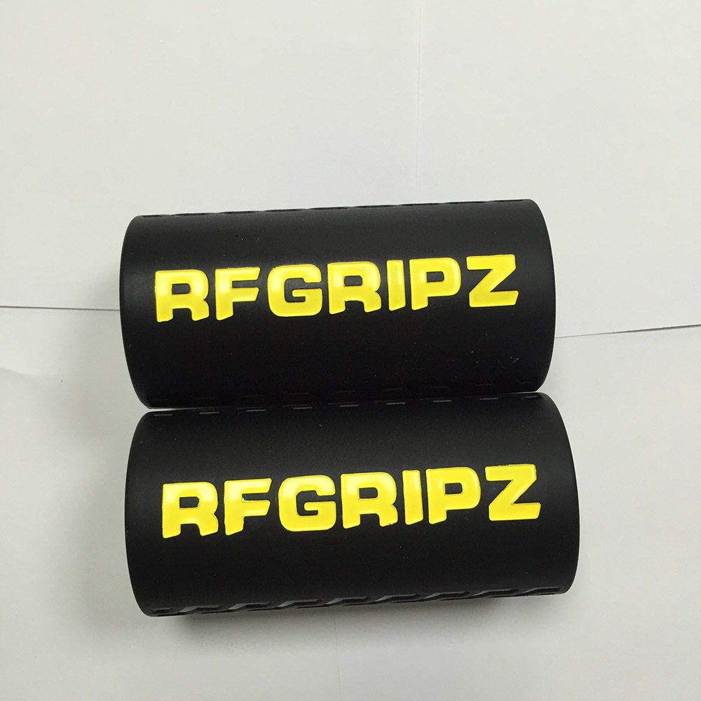2 sizes 1 pair bright color filled Grips 2.0 - Extreme Arm Blaster - Best Dumbbell and Barbell Thick Bar Adapter black худи print bar best color