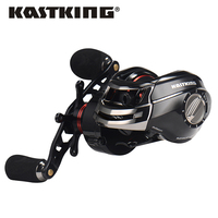 KastKing RS1000H 12 Ball Bearings Gear Left Hand Baitcasting Fishing Reel High Quality Light Weight Carp