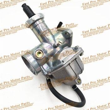 Carburador de alto rendimiento 27mm motocicleta PZ27 bomba acelerador carburador XL 100 125 150 175 moto de cross choke de mano