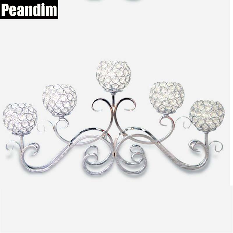 Peandim romantic vintage home decor wedding decorations for Crystal home decorations