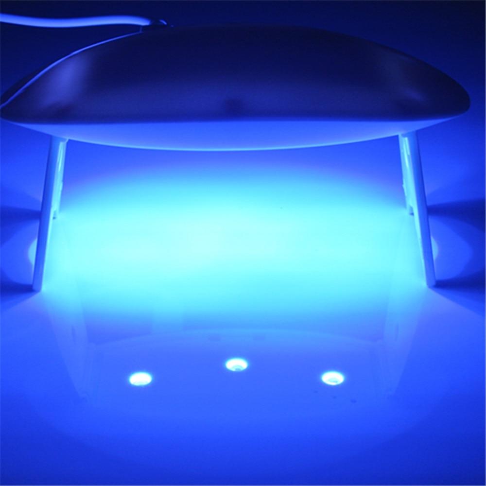 Tipart 9W Nail Dryer LED UV-nagellamp Ljus bärbar för LED UV-gel - Nagel konst