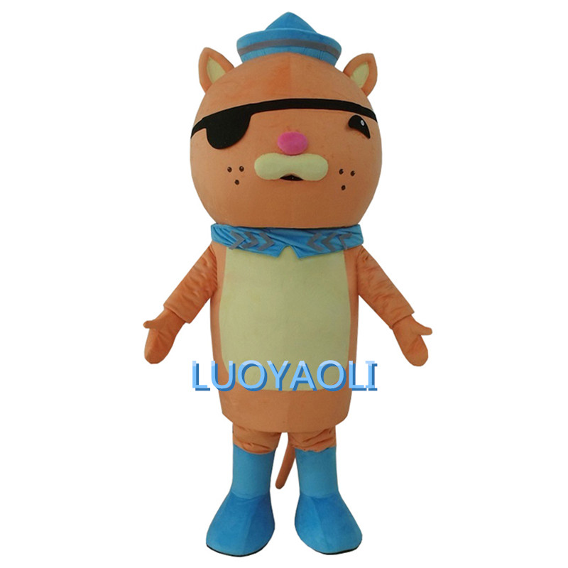 Free Shipping Octonauts Barnacles and Kwazii Mascot Costume Cartoon Costumes For Adults