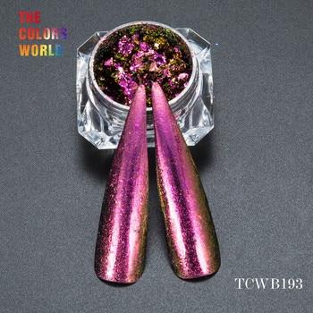 TCWB193 Chameleon Flakes Magic Effect Flakes large size chameleon  for nail Art  nail polish and  other DIY decoration
